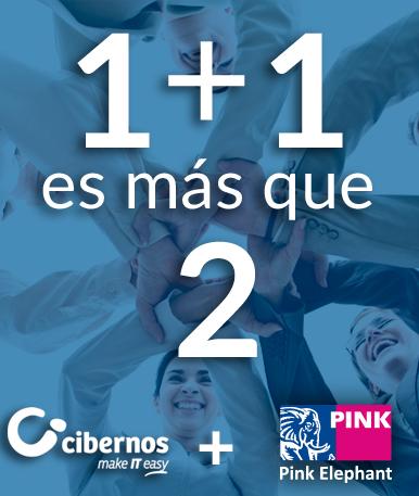 Pink Elephant y Grupo Cibernos sellan una alianza estratégica para apoyar en la Transformación Digital a las empresas en España