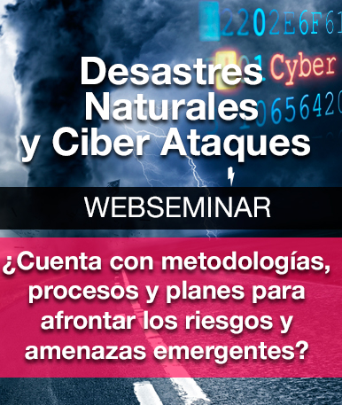 Video Webinar: Desastres Naturales y Ciberataques