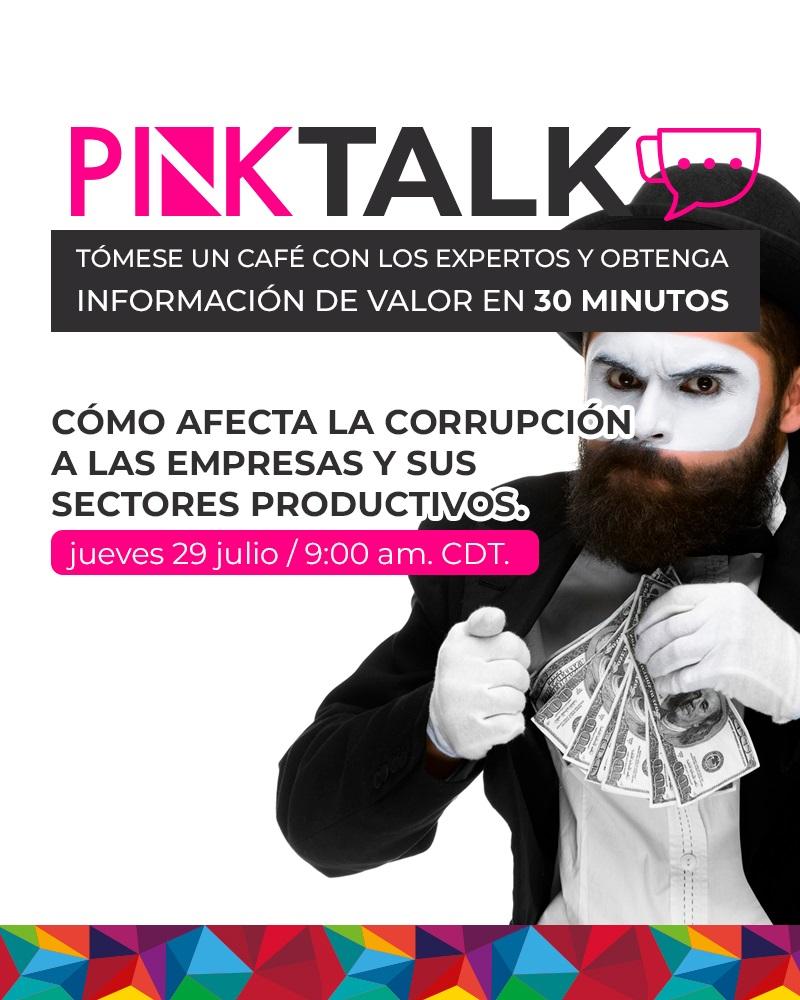 Coffee Talk: Cómo afecta la corrupción a las empresas y sus sectores productivos