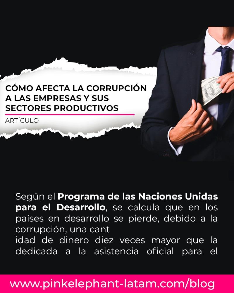 Artículo: Cómo afecta la corrupción a las empresas y sus sectores productivos